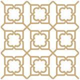 Arabski bezszwowy ornament Zdjęcia Royalty Free