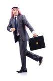Arabski biznesmen odizolowywający Zdjęcia Stock