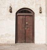 Arabski drzwi Zdjęcie Royalty Free