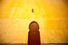 Arabski drzwi, zbliżenie Obrazy Royalty Free