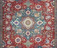 Arabski dywanowy tekstury tło Obraz Royalty Free