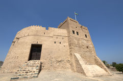 Arabski fort w Fujairah Obrazy Royalty Free