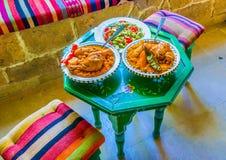 Arabski gość restauracji Obrazy Royalty Free