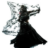 Arabski kobiety brzucha tancerza taniec fotografia royalty free