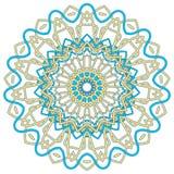 Arabski Kolorowy mandala Etniczni plemienni ornamenty Zdjęcia Royalty Free