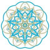 Arabski Kolorowy mandala Etniczni plemienni ornamenty Obraz Stock