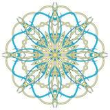 Arabski Kolorowy mandala Etniczni plemienni ornamenty Zdjęcia Stock