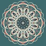 Arabski Kolorowy mandala Etniczni plemienni ornamenty Zdjęcie Stock