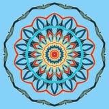 Arabski Kolorowy mandala Etniczni plemienni ornamenty Fotografia Stock