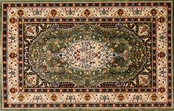 arabski kwiecisty deseniowy dywanik Obrazy Royalty Free