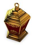 Arabski lampion z Kwiecistymi motywami Zdjęcia Royalty Free
