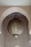 arabski lampowy kruszcowy stary tradycyjny Fotografia Royalty Free