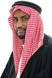 arabski mężczyzna portreta sheikh Obrazy Royalty Free