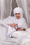 arabski męski portret Zdjęcia Stock