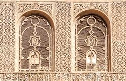 Arabski pałac Ben Youssef Obraz Royalty Free