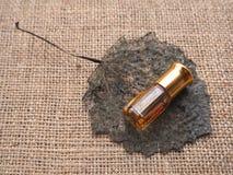 Arabski pachnidło od agarwood drzewa Zdjęcie Royalty Free