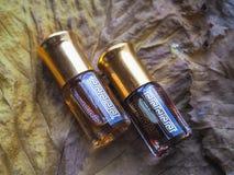 Arabski pachnidło od agarwood drzewa Fotografia Royalty Free