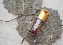 Arabski pachnidło od agarwood drzewa Fotografia Stock