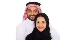 Arabski para portret Zdjęcie Royalty Free