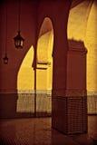 Arabski podwórze III Zdjęcie Stock