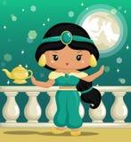 Arabski Princess Obraz Royalty Free