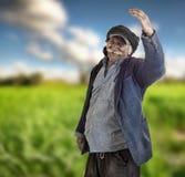 arabski rolnik libańczyk dumny ziemia libańczyk obrazy royalty free