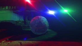 Arabski salon z planety 3 i ziemią barwi światła zdjęcie wideo