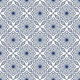 Arabski stylowy geometryczny islamski bezszwowy wzór Obraz Royalty Free