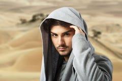 Arabski stylowy męski portret Obraz Royalty Free