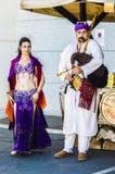 Arabski tancerz w Toledo Zdjęcie Royalty Free