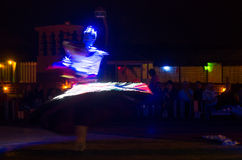 Arabski tancerz wykonuje a Fotografia Stock