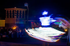 Arabski tancerz wykonuje a Zdjęcie Royalty Free