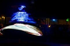 Arabski tancerz wykonuje a Fotografia Royalty Free