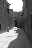 arabski target579_1_ zlany Dubai stary obrazy stock