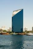 arabski target971_1_ zlany Dubai nowożytny zdjęcie royalty free