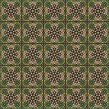 Arabski tradycyjny mozaiki ściany wystrój Obrazy Royalty Free