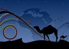 arabski świat Zdjęcia Stock