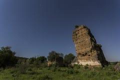 Arabskie antyczne ruiny Fotografia Royalty Free