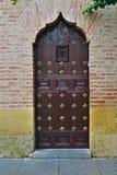 arabskie drzwi Zdjęcie Royalty Free
