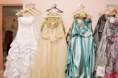 Arabskie ślubne Suknie Fotografia Royalty Free