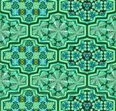 Arabskie ornamentacyjne płytki Obrazy Royalty Free