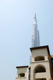 arabskiego burj Dubai hotelowy drapacz chmur styl Zdjęcia Stock