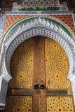 Arabskiej architektury ornamentacyjna dekoracja zdjęcia stock