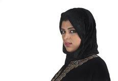 arabskiej pięknej islamskiej damy tradycyjny target268_0_ Obrazy Royalty Free