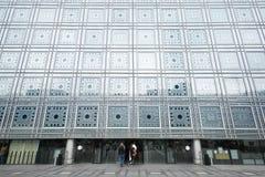 Arabvärldinstitutbyggnad i Paris Royaltyfria Foton