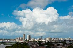 Aracaj - Sergipe. Aracaju - Sergipe, Brazil - June 6, 2014: cityscape of Aracaju view from Atalaia nova Stock Photos