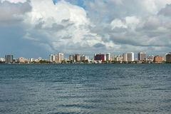 Aracaj - Sergipe. Aracaju - Sergipe, Brazil - June 6, 2014: cityscape of Aracaju view from Atalaia nova Stock Photography