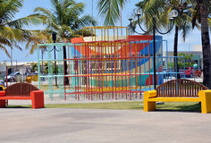 Aracaju Kids Public Park. Aracaju is a municipality and capital of the Brazilian state of Sergipe. It is located on the coast, being cut by rivers like the Poxim Stock Images