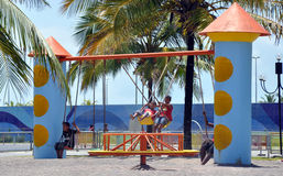 Aracaju Kids Public Park. Aracaju is a municipality and capital of the Brazilian state of Sergipe. It is located on the coast, being cut by rivers like the Poxim Stock Photography