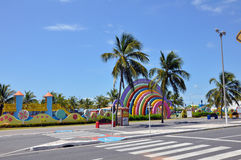 Aracaju Public Park Kids Park. Aracaju is a municipality and capital of the Brazilian state of Sergipe. It is located on the coast, being cut by rivers like the Royalty Free Stock Photos